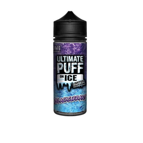 Ultimate Puff On Ice 0mg 100ml Shortfill (70VG/30PG) - vapingos