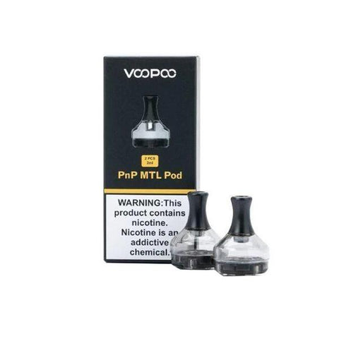 VooPoo PnP MTL Replacement Pods (No Coil Included) - vapingos