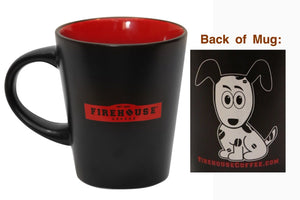 Firehouse Coffee - 12oz Ceramic Mug (Included)