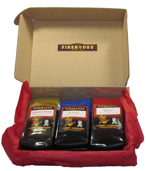 Buy a firefighter a coffee gift set