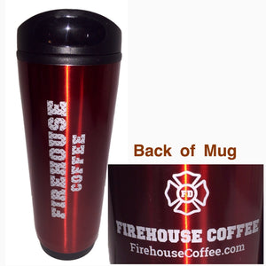 Firehouse Coffee 18oz Coffee Tumbler