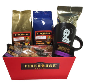 Firehouse Coffee, Gourmet Coffee Gift Basket