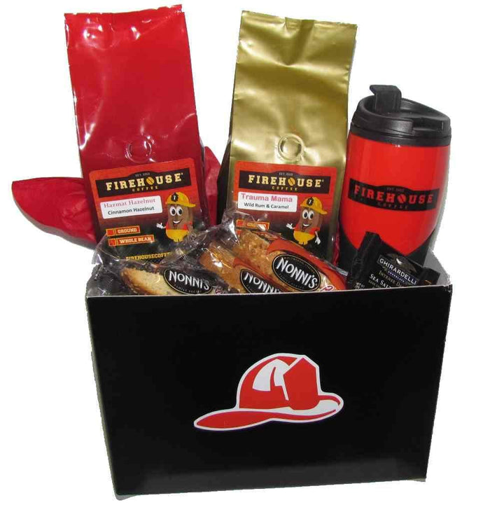 Firefighter Helmet - Gift Basket for a Fireman