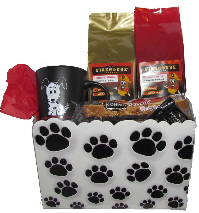 Firehouse Dog - Coffee Gift Basket