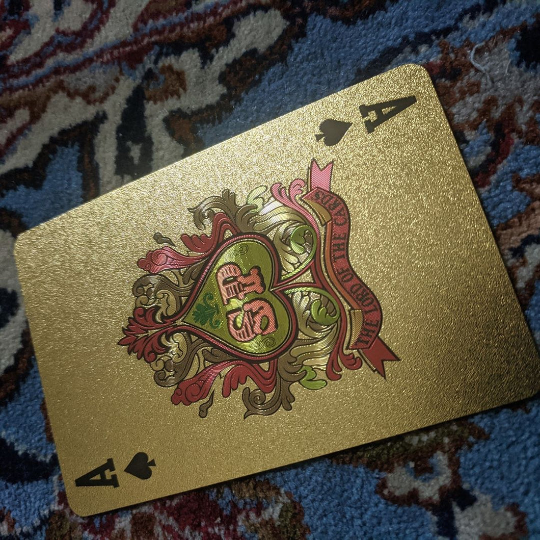 ConjuredCards Auction - Ace of Spades