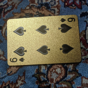 ConjuredCards Auction - 6 of Spades