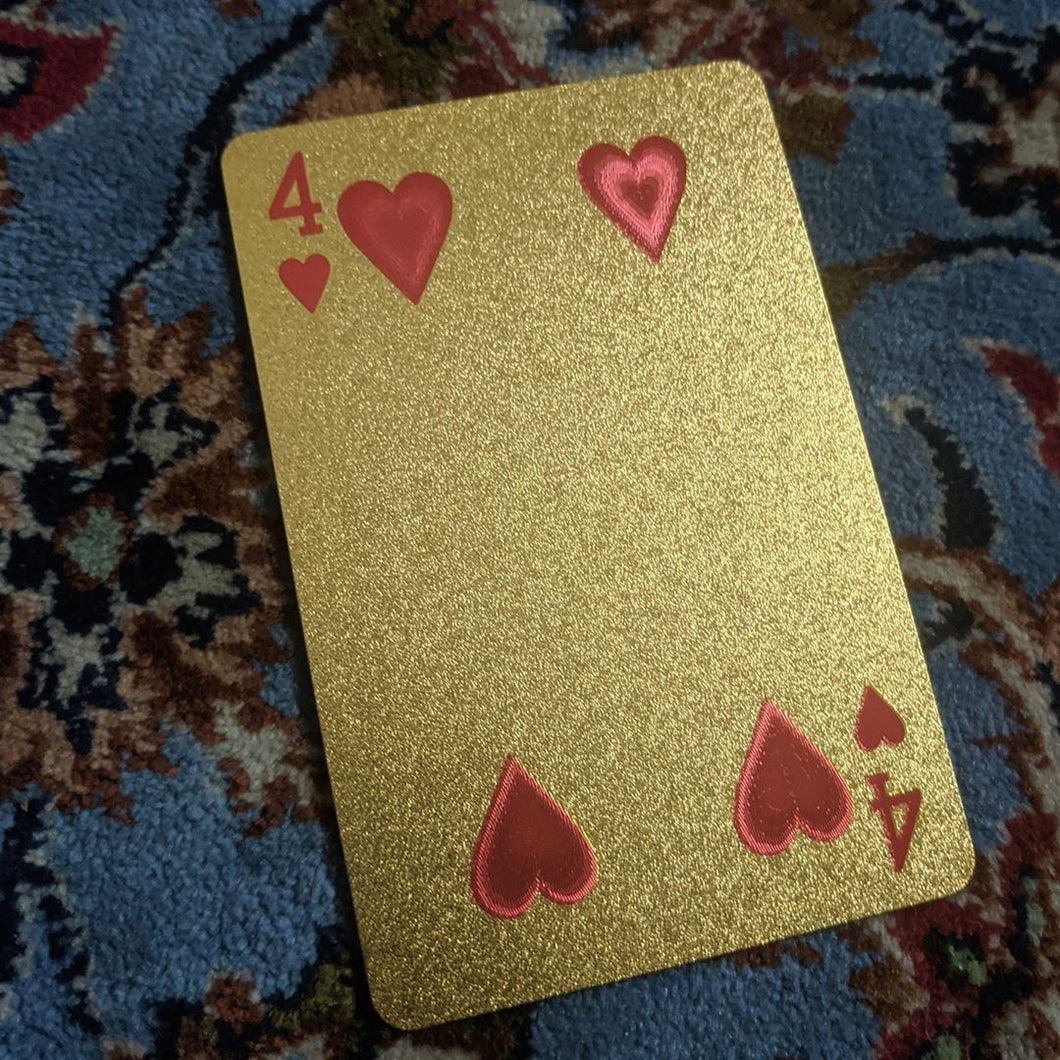 ConjuredCards Auction -  of Hearts