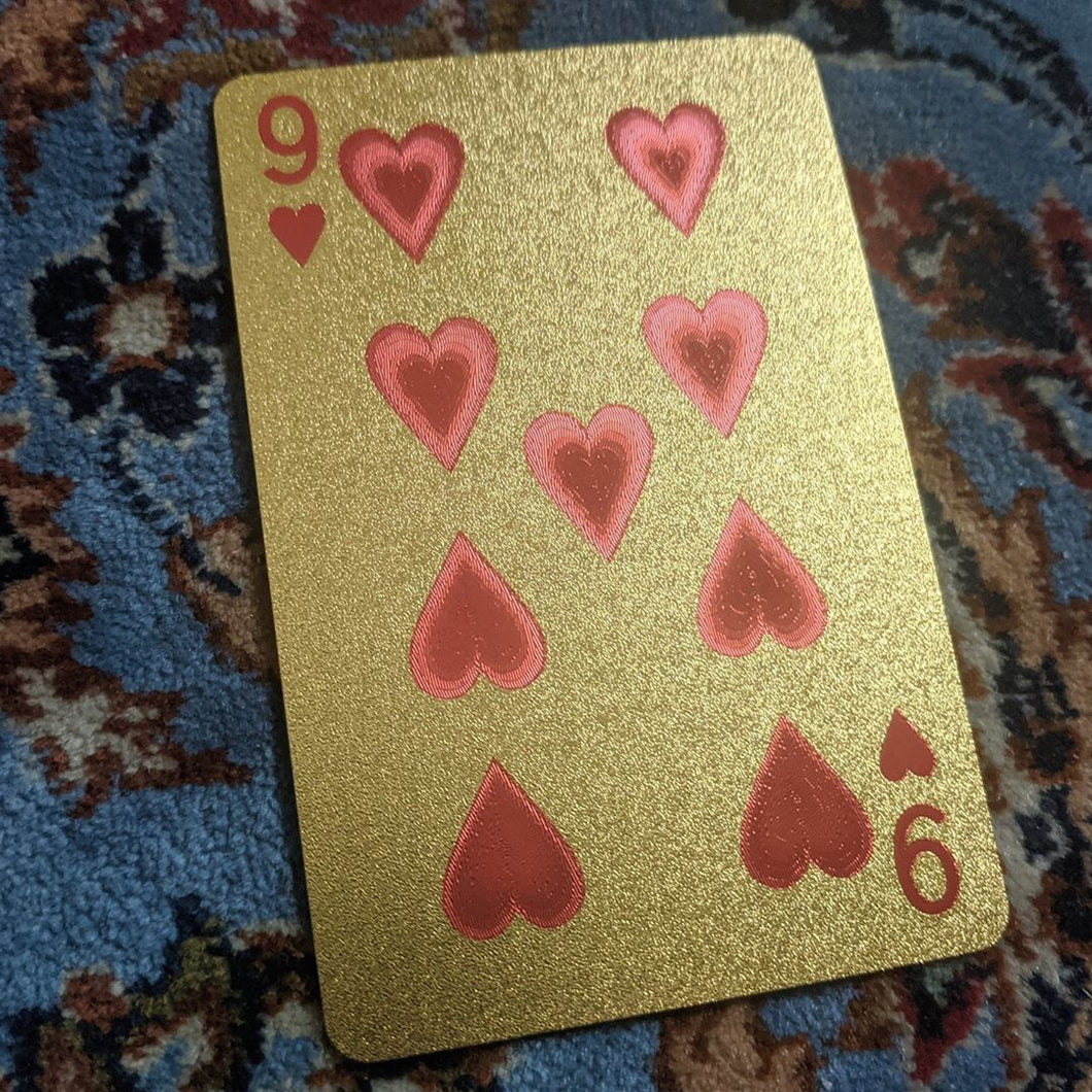 ConjuredCards Auction - 9 of Hearts