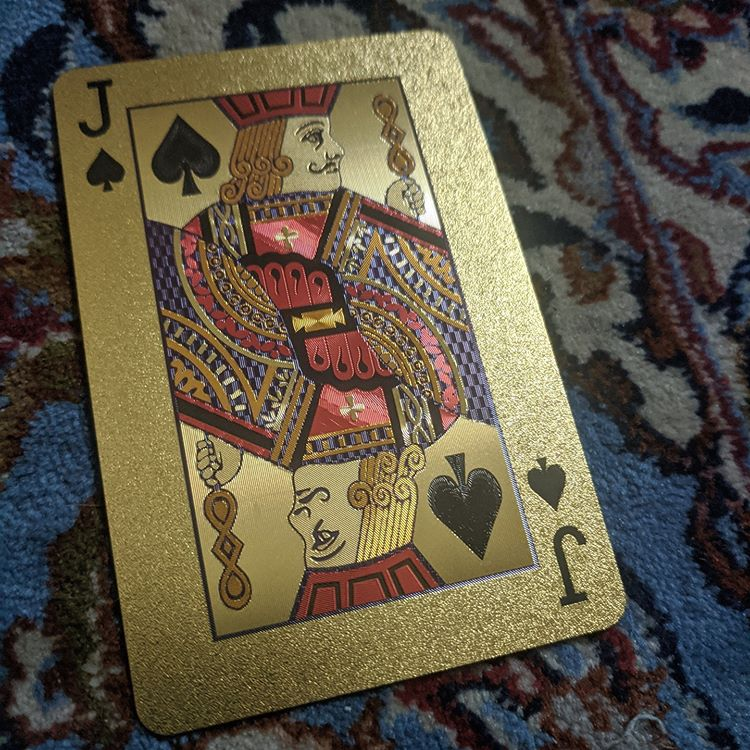 ConjuredCards Auction - Jack of Spades