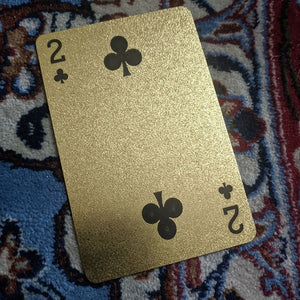 ConjuredCards Auction - 2 of Clubs