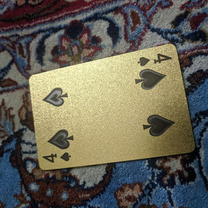 ConjuredCards Auction - 4 of Spades