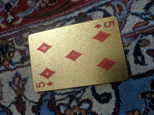 ConjuredCards Auction - 5 of Diamonds