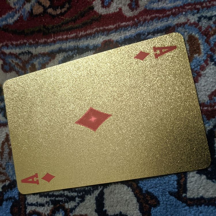 ConjuredCards Auction - Ace of Diamonds