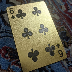 ConjuredCards Auction - 6 of Clubs