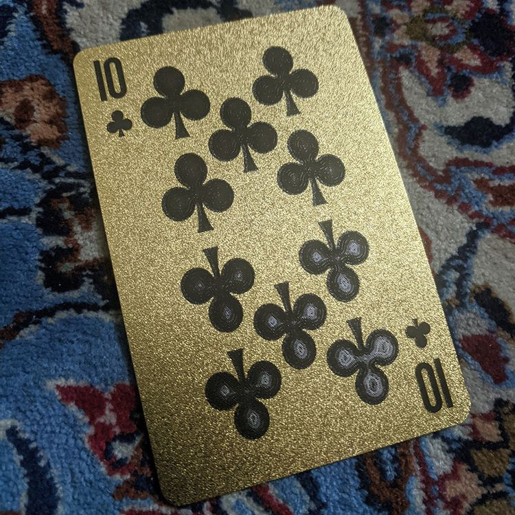 ConjuredCards Auction - 10 of Clubs