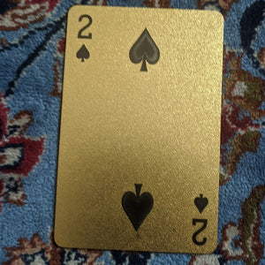 ConjuredCards Auction - 2 of Spades