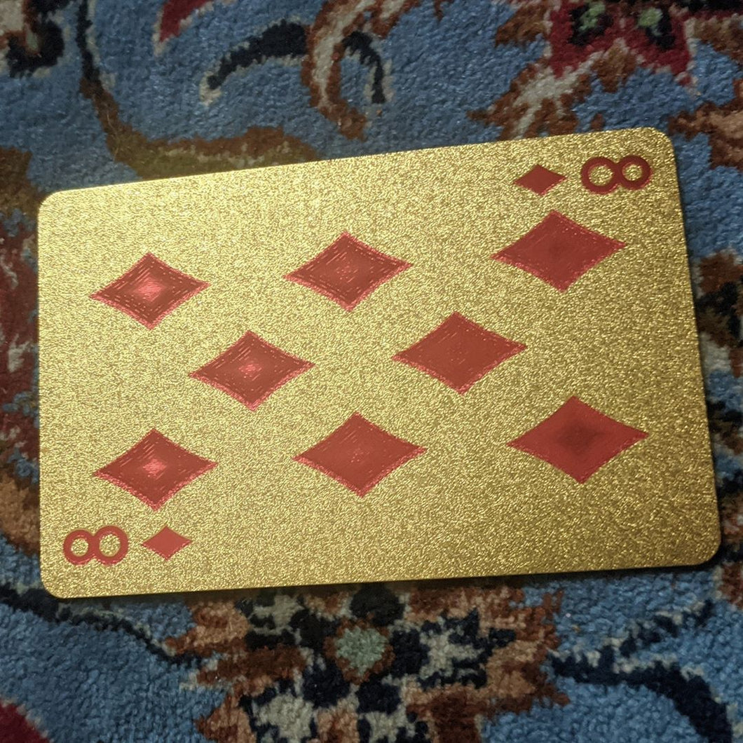 ConjuredCards Auction - 8 of Diamonds