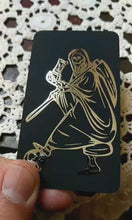 Load and play video in Gallery viewer, Santa Muerte Foil Devotional Cards