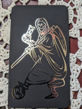 Load image into Gallery viewer, Santa Muerte Foil Devotional Cards