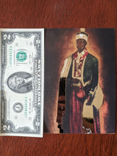 Load image into Gallery viewer, High John the Conqueror Metallic Gold Devotional Card (2 Sizes)