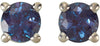 Alluring Genuine Gemstone Alexandrite Earrings at BitCoin Gems