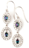 Elegant Genuine Gemstone Alexandrite Earrings at BitCoin Gems