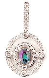Exquisite Genuine Gemstone Alexandrite Pendant for SALE at BitCoin Gems