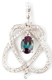 Romantic Genuine Gemstone Alexandrite Pendant for SALE at BitCoin Gems
