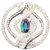 Mesmerizing Genuine Gemstone Alexandrite Pendant for SALE at BitCoin Gems
