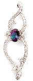 Fancy Genuine Gemstone Alexandrite Pendant for SALE at BitCoin Gems