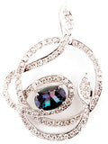 Gorgeous Genuine Gemstone Alexandrite Pendant for SALE at BitCoin Gems