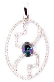 Pretty Genuine Gemstone Alexandrite Pendant for SALE at BitCoin Gems