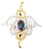Intricate Genuine Gemstone Alexandrite Pendant for SALE at BitCoin Gems