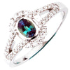 Pretty Alexandrite Genuine Gemstone Ring at BitCoin Gems