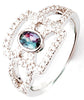 Elegant Alexandrite Genuine Gemstone Ring at BitCoin Gems