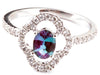 Fine Alexandrite Genuine Gemstone Ring at BitCoin Gems