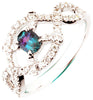 Exquisite Alexandrite Genuine Gemstone Ring at BitCoin Gems