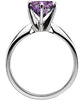Grand Alexandrite Genuine Gemstone Ring at BitCoin Gems