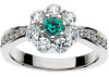 Endearing Alexandrite Genuine Gemstone Ring at BitCoin Gems