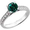 Snazzy Alexandrite Genuine Gemstone Ring at BitCoin Gems