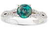 Fashionable Alexandrite Genuine Gemstone Ring at BitCoin Gems
