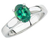 Lovely Alexandrite Genuine Gemstone Ring at BitCoin Gems