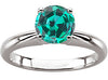 Striking Alexandrite Genuine Gemstone Ring at BitCoin Gems