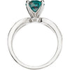 Chic Alexandrite Genuine Gemstone Ring at BitCoin Gems