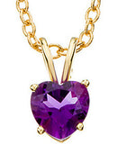 Ravishing Genuine Gemstone Amethyst Pendant for SALE at BitCoin Gems