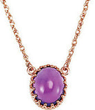Lovely Genuine Gemstone Amethyst Pendant for SALE at BitCoin Gems