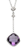 Magnificent Genuine Gemstone Amethyst Pendant for SALE at BitCoin Gems