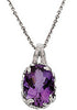 Captivating Genuine Gemstone Amethyst Pendant for SALE at BitCoin Gems