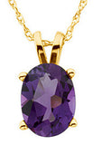 Eye Catching Genuine Gemstone Amethyst Pendant for SALE at BitCoin Gems