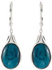 Stylish Genuine Gemstone Apatite Earrings at BitCoin Gems